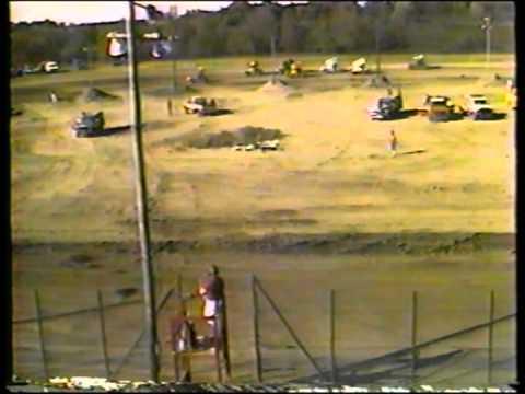 Vintage Gas City I-69 Speedway 1987 (Winged Sprint Heat 1)
