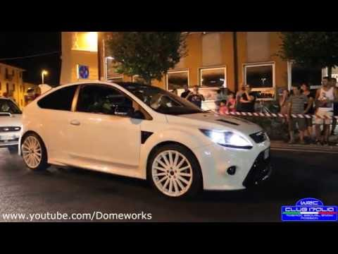Rally Show Castagnaro Street WRC Club Italia - Accelerations & Fly Bys