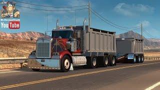 [ATS v1.4] Kenworth W900 Dump Truck + Trailer