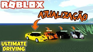 ROBLOX: Ultimate Driving-NEW voitures, CHANGES en One et Ford Gt et bug FIXES!!!