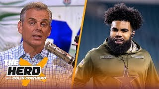 Colin defends OBJ, says Zeke is too much 'noise' for the Cowboys | NFL | THE HERD