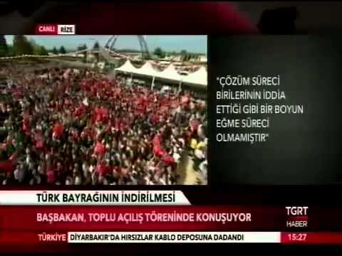 Başbakan Recep Tayyip Erdoğan Rize[ES][SQ]de konuşuyor...(13.06.2014)   TGRT Haber [HD]