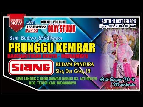 LIVE PRUNGGU KEMBAR - CERITA SIANG (SUKU LERANG) | LIVE LENGEK II JATIMULYA | 14 OKTOBER 2017