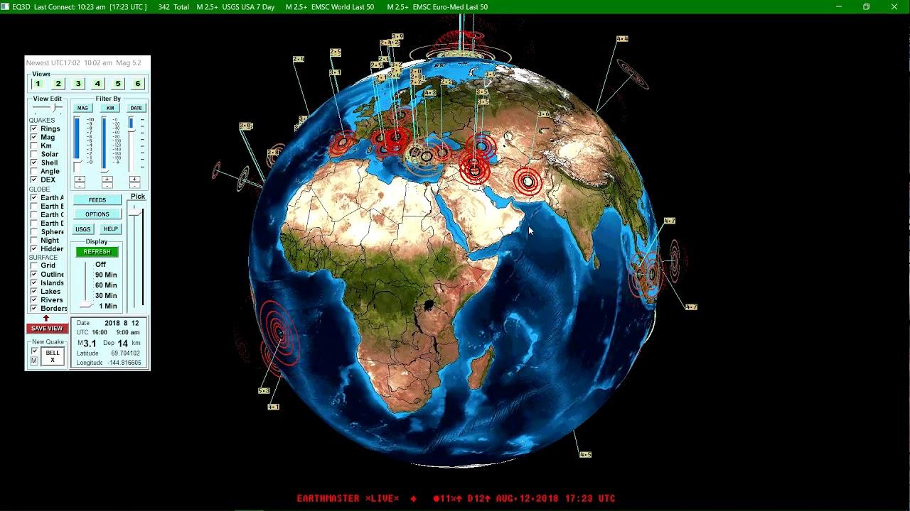 Kaktovik Alaska Map.M 6 4 Earthquake 64km Sw Of Kaktovik Alaska 8 12 2018 Youtube