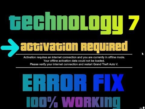 GTA 5 Activation Required Fix