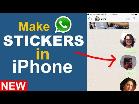 How To Make Whatsapp Stickers In Iphone 2018 Youtube