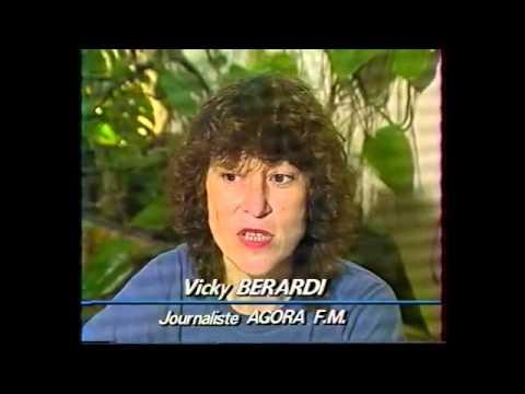 LO CEPON invité  à Radio Agora à Grasse (06) JT FR3 côte d'azur 1991