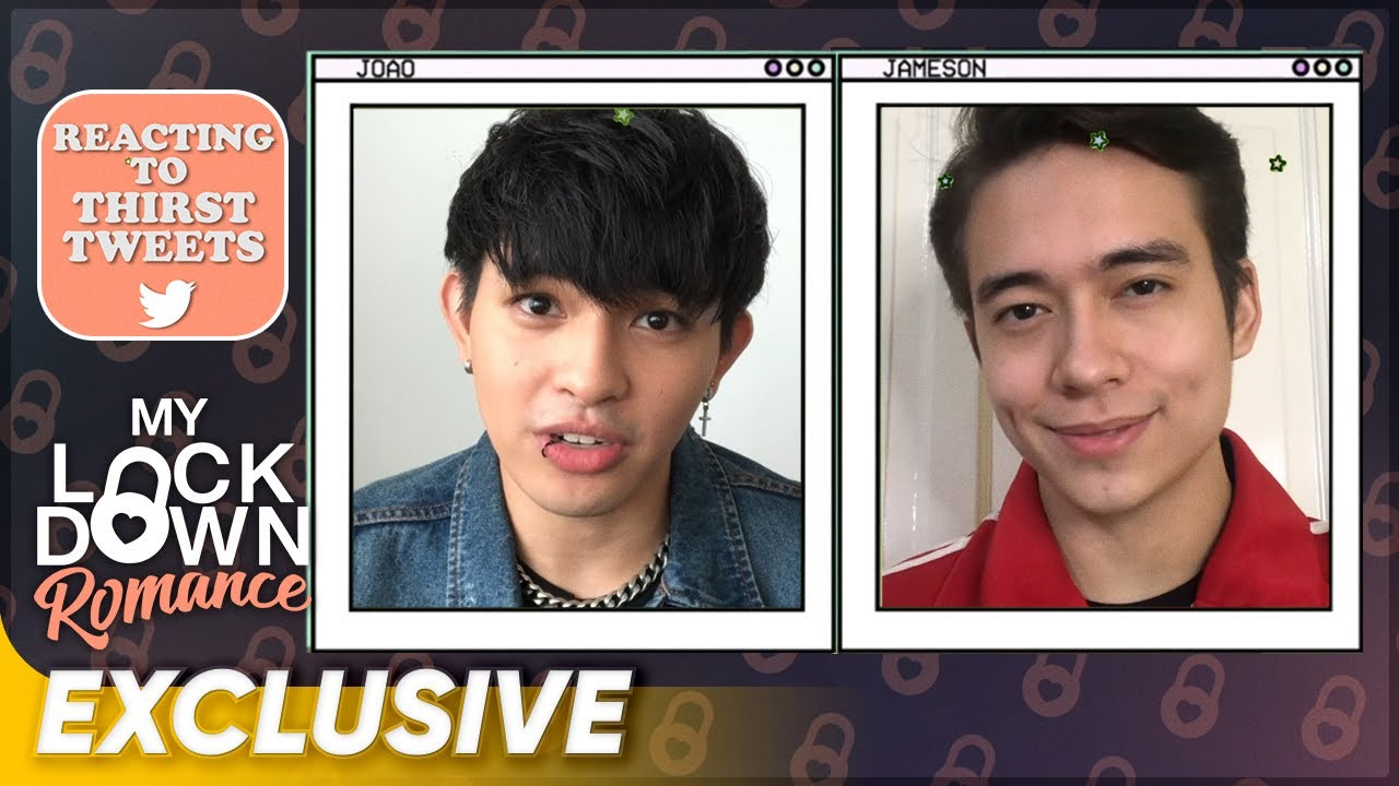 Jameson Blake and Joao Constancia Read Thirst Tweets | My Lockdown Romance
