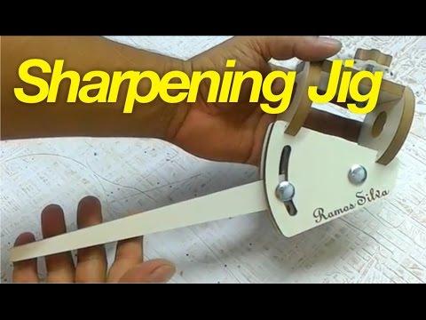 Gabarito Para Afiação De Goivas - Homemade Sharpening Jig For Woodturning Tools