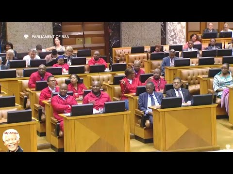 EFF vs  Cyril Ramaphosa On Land Reform