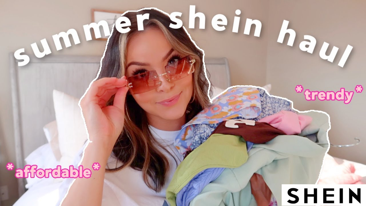 Download HUGE SHEIN SUMMER TRY ON HAUL 2021 | trendy and affordable