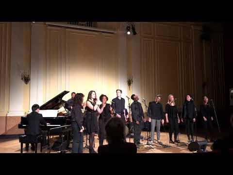 2017/11/14 NEC Gospel Ensemble at Brown Hall (Boston, USA)