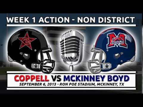 9/6/2013: Coppell vs McKinney Boyd