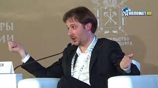 Александр Цыпкин на VI Санкт-Петербургском Международном Культурном Форуме