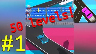 Traffic Run Walkthrough Part 1 Level 1-50
