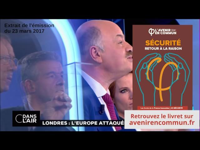 Terrorisme et Mélenchon - L'incroyable avis d'Alain Bauer