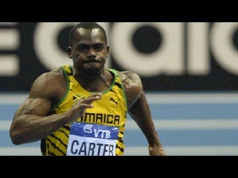 Jamaican sprinter Nesta Carter fails 2008 drug re-test