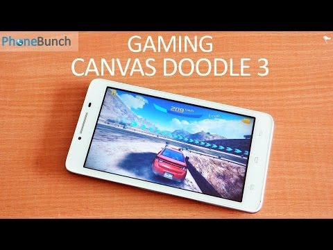 Micromax Canvas Doodle 3 A102 Gaming Review