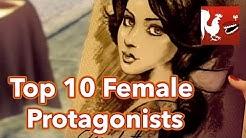 Countdown - Top 10 Female Protagonists | Rooster Teeth