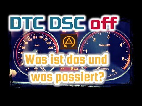 DTC DSC off // kurz erklärt: Was ist das und was passiert !?