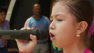 """Carolina """"K-rito"""" Cruz """"CANTANTE""""  / Tiempo Real, de Verdad! - Niños Talentosos - Cali Colombia"""