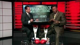 Larry Holmes Calls out George Forman 12/9/16