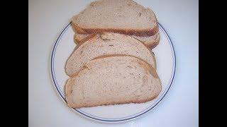 Хлеб на закваске с добавлением ржаной муки