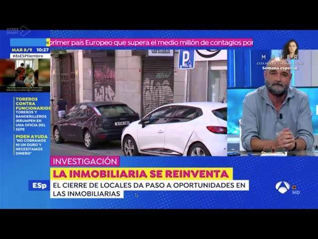 Espejo Público entrevista a Bafre Inmobiliaria sobre el sector inmobiliario post Covid
