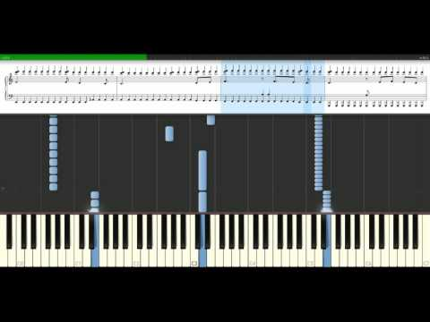 Muse - Invincible [Piano Tutorial] Synthesia