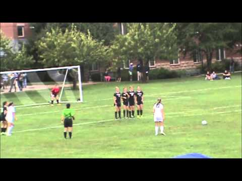 WOMEN'S SOCCER: Fighting Scots Open CCC Play by Topping Wentworth, 3-0, 9/13/14