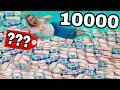 ЧТО ЕСЛИ ВЫЖАТЬ 10000 ВЛАЖНЫХ САЛФЕТОК ?! Безумный Эксперимент Маша Зум