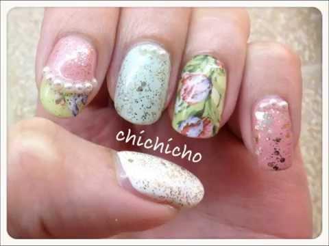Attempt to copy Etude House Etoinette Versailles Nails