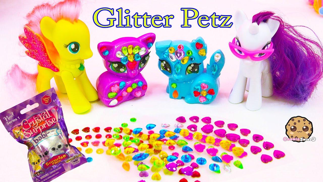 Rainbow Gem Glitter Petz With My Little Pony Crystal