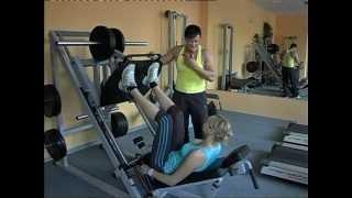 интенсивная тренировка для ног и ягодиц