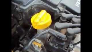 Стук двигателя Рено логан.(Стук появляеся при прогреве двигателя до двух делений , на холодном двигателе стука нет. что бы это могло..., 2012-09-11T16:46:03.000Z)