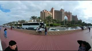 VR 360 Visiting Atlantis in Palm Jumeirah, Dubai 2018