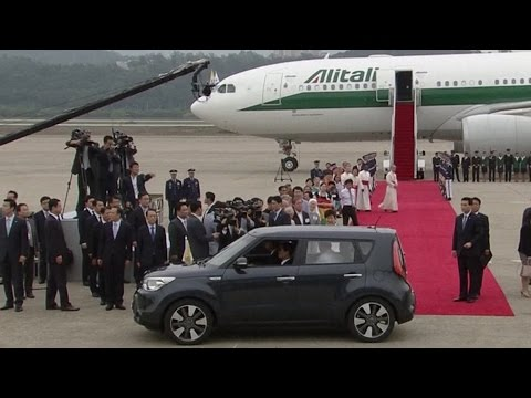 The Pope Takes a Soul to Seoul