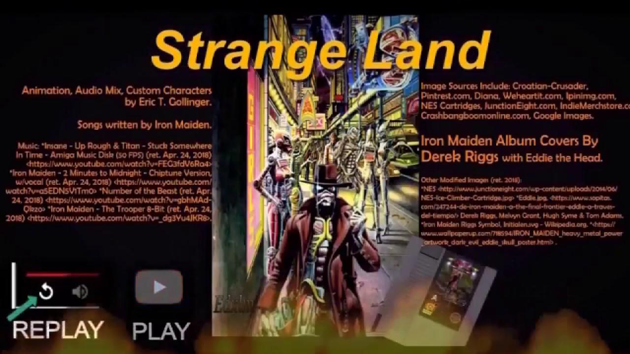 Iron Maiden Game Demo 16 Bit Style Youtube