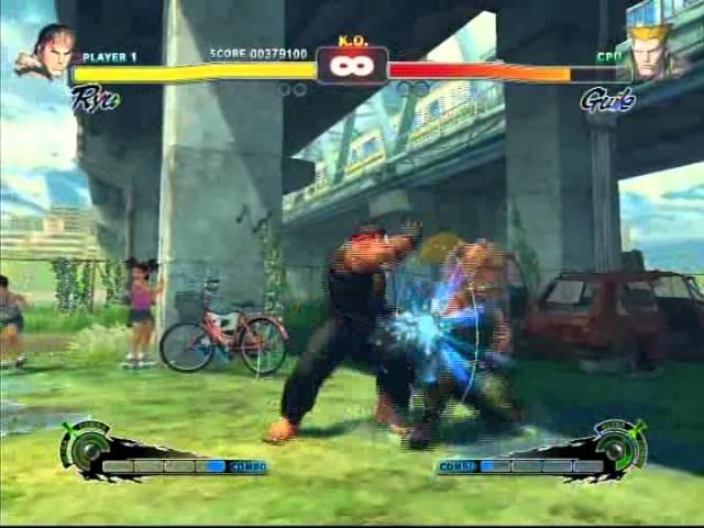 Super Street Fighter 4 - Ryu Playthrough