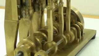 Dampfmaschine Schiffsmotor Umsteuerung