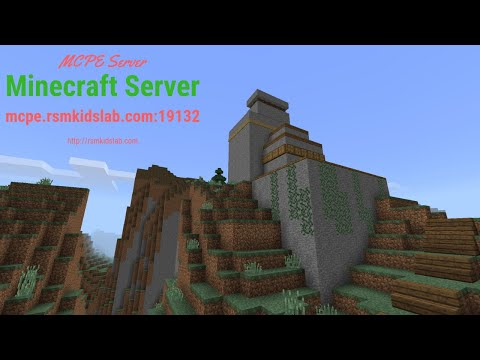 Imagine Create Explore on our Minecraft PE Server