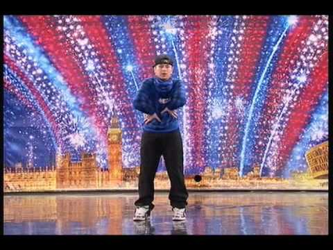 Видео, Britains Got Talent 2010 Auditions Tobias Mead Robot Dancer