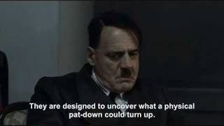 Hitler is informed about the Full-body Scanners