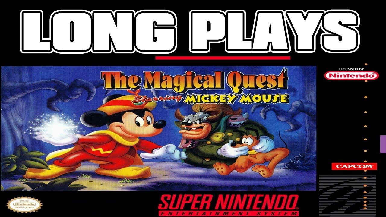 The Magical Quest Starring Mickey Mouse (SNES version) - Long plays LIVE #08