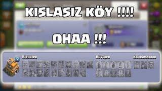 Kışlasız Köy Oyunda İlk! Tuhaf Köyler - Clash Of Clans