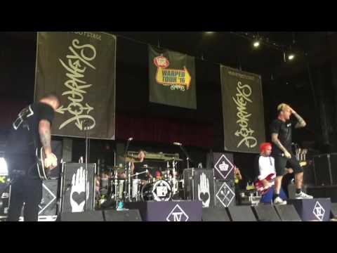 New Found Glory - My Friends Over You - Warped Tour - BB&T Pavilion - Camden, NJ - July 8, 2016