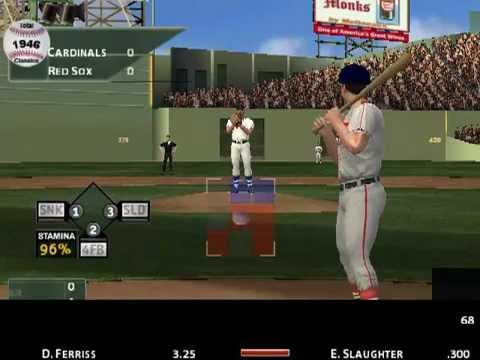 MVP Baseball 2005 (1946 mod) World Series St. Louis Cardinals vs. Boston Red Sox