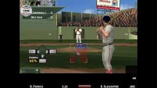MVP Baseball 2005 (1946 mod) World Series St. Louis Cardinals vs. Boston Red Sox