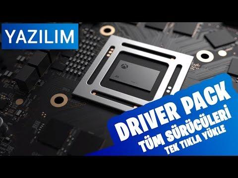 Driver Pack - Tüm Sürücüleri Tek Tıkla Kurun !
