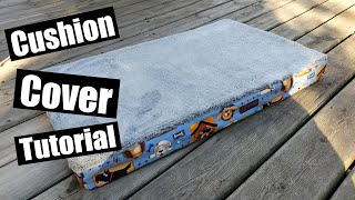 Pet bed sewing tutorial with Removable cover